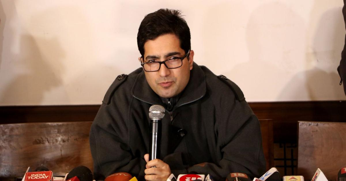 """Everything has been Lost, except our Resolve to Fight Back"": Shah Faesal on Kashmir"