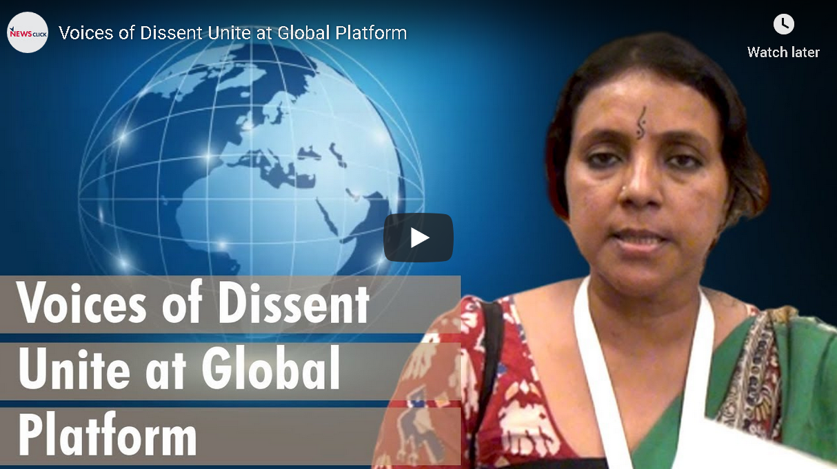Voices of Dissent Unite at Global Platform
