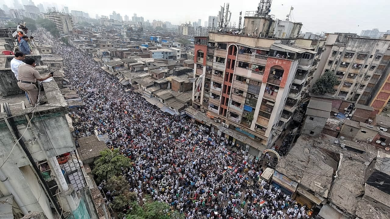Anti-CAA protest in Dharavi sees more than 25,000 people march for equal rights