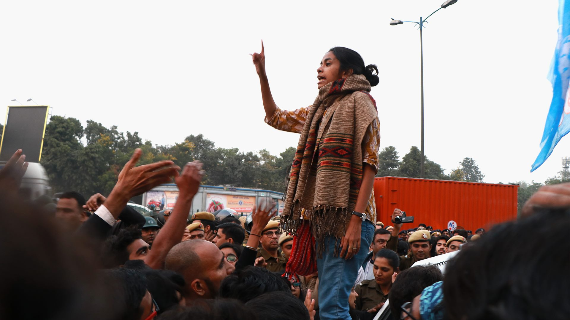 JNU Violence: No arrest yet, but police files FIR against injured Aishe Ghosh, 19 others