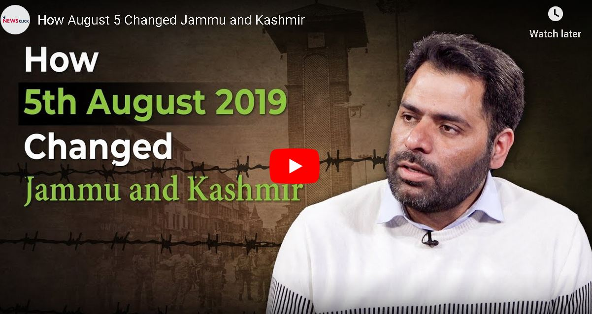 How August 5 Changed Jammu and Kashmir