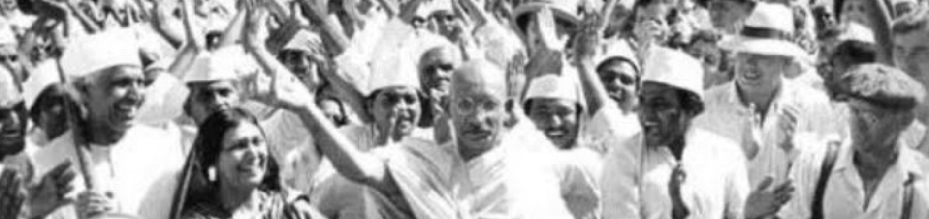 'If Gandhi were alive, he would be at every protest today'
