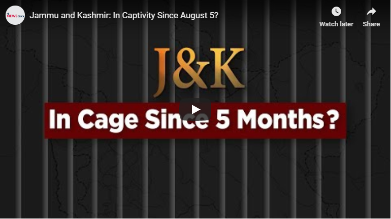 Jammu and Kashmir: In captivity since August 5?