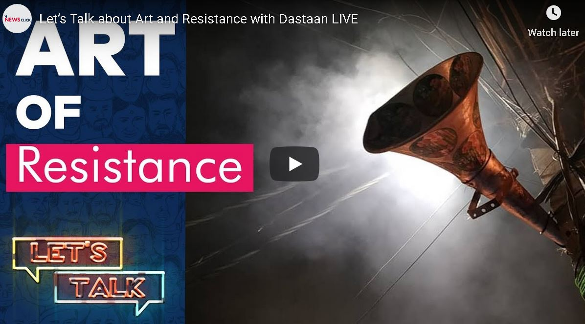 Let's Talk about Art and Resistance with Dastaan LIVE