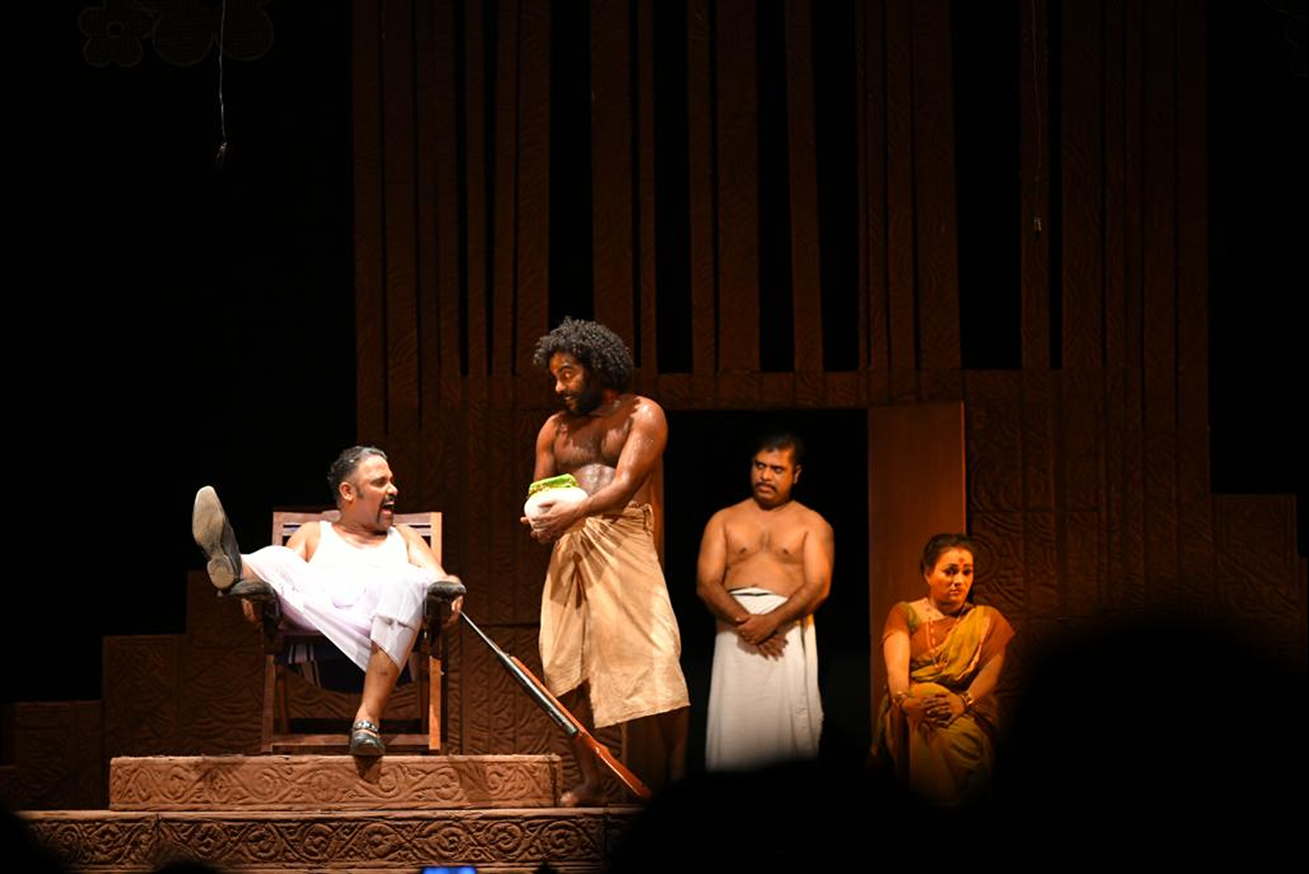 Controversy over male nudity in Malayalam play staged in theatre festival
